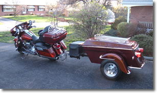 Legacy motorcycle trailer