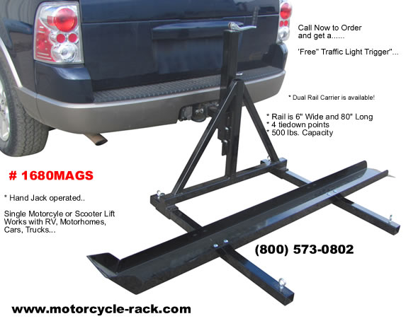 What to Consider Prior Installing a Motorcycle Carrier?
