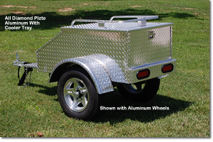 All Diamond Plate Trailer