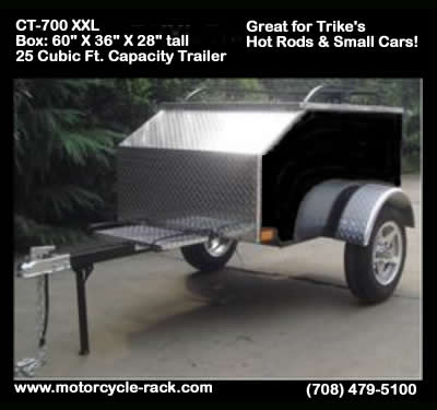 Pull behind a Trike Trailer