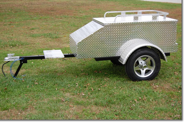 5 Ft long - 18 Cubic Ft. Capacity Trailer