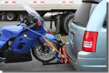 Long Distance Towing >> Motorcycle Carrier