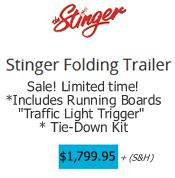 Stinger Trailer with Condor Chock