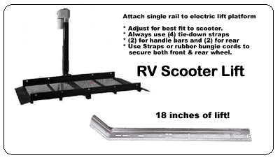 RV Scooter Lift